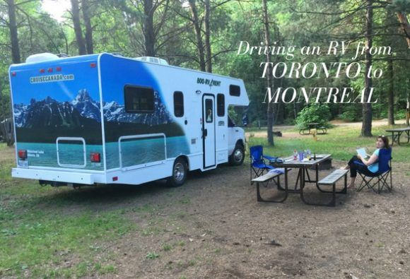 Driving an RV from Toronto to Montreal