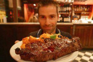Seb steak in Buenos Aires parilla Photo: Heatheronhertravels.com