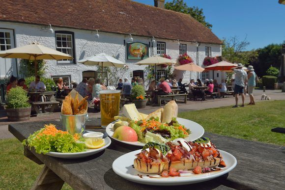 Pub lunches close to Eastbourne Photo: Visit Eastbourne