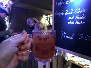 Gluhwein to drink at the Christmas markets in Coburg Photo: Heatheronhertravels.com