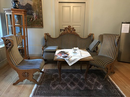 Sitting room at Hotel Villa Victoria in Coburg