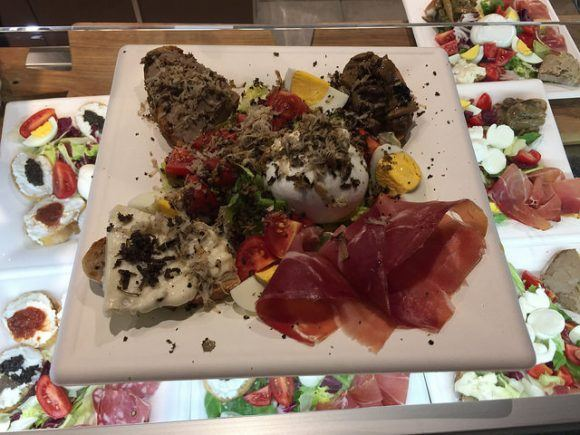 Truffle Platter in Florence - What to eat in Florence