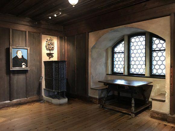 Luther rooms in Veste Coburg Photo: Heatheronhertravels.com