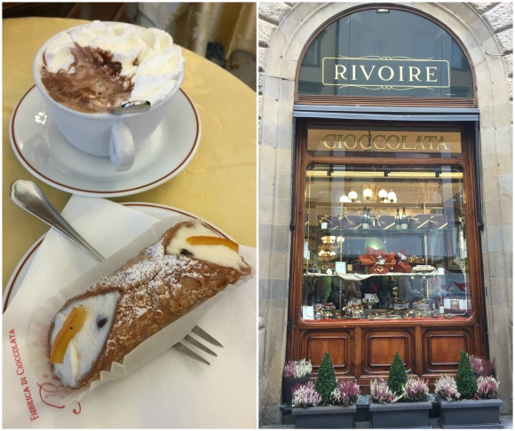 Rivoire in Florence - What to eat in Florence Photo: Heatheronhertravels.com