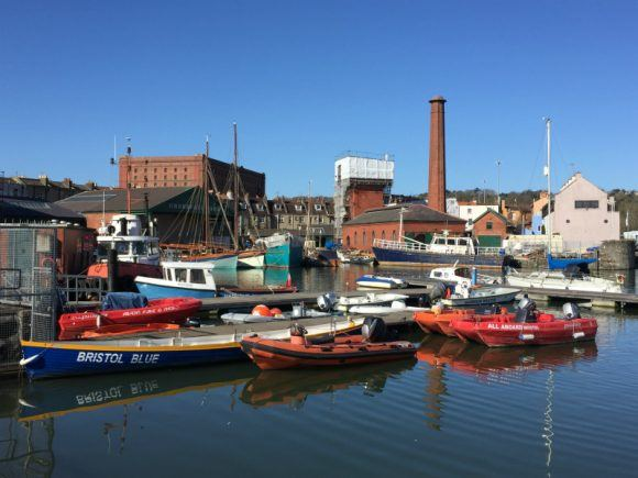 Unusual things to do in Bristol - Underfall Yard photo: Heatheronhertravels.com