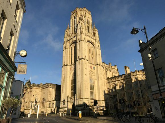 Wills Tower in Bristol photo: Heatheronhertravels.com