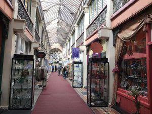 Clifton Arcade in Bristol photo: Heatheronhertravels.com