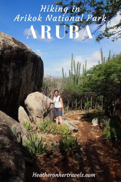 Hiking in Aruba Arikok National Park