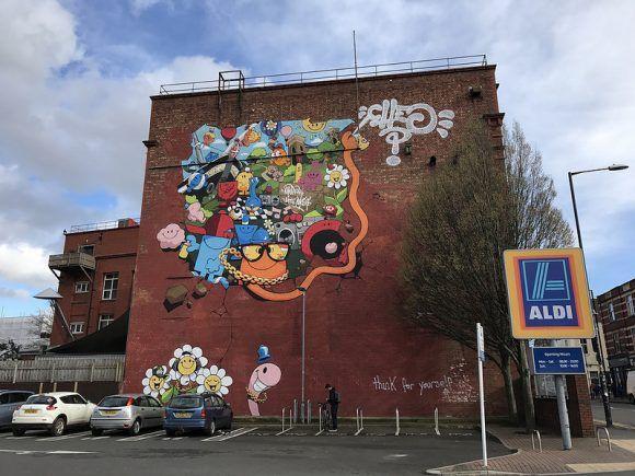 Cheo Upfest mural in Southville Photo: Heatheronhertravels.com