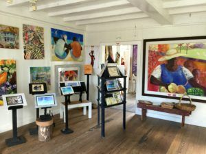 Gallery on the square in Basseterre St Kitts Photo: Heatheronhertravels.com