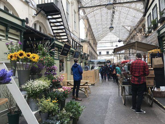 St Nicholas Market photo: Heatheronhertravels.com