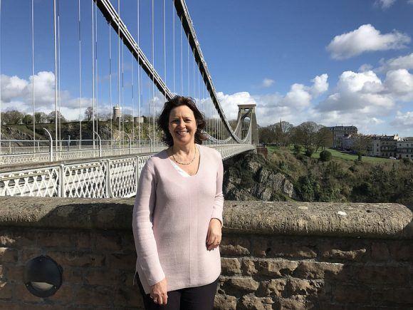 The Clifton Suspension Bridge in Bristol photo: Heatheronhertravels.com