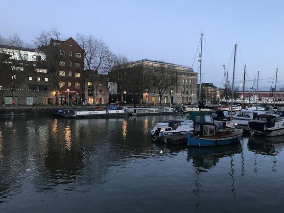 Things to do in Bristol - The harbour and Arnolfini Photo: Heatheronhertravels.com