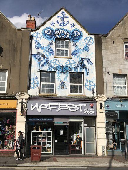 Upfest gallery in Bristol photo: Heatheronhertravels.com