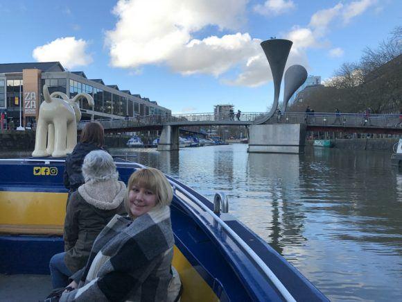 Ferry around Bristol harbour Photo: Heatheronhertravels.com