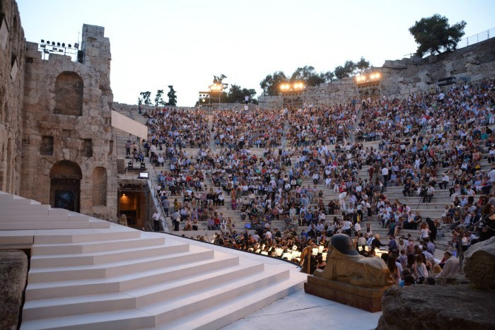 Herodion Athens: Courtesy of City of Athens