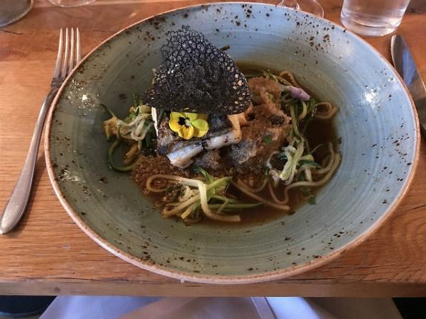 Dinner at Square Kitchen in Bristol Photo: Heatheronhertravels.com