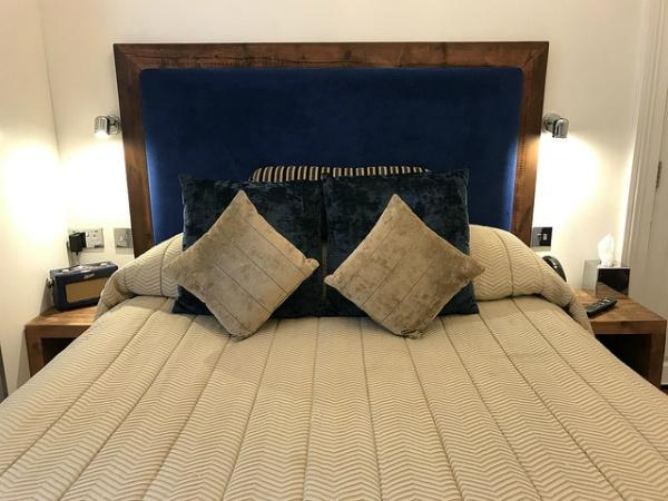 Bedroom at Berkeley Suites in Bristol Photo: Heatheronhertravels.com