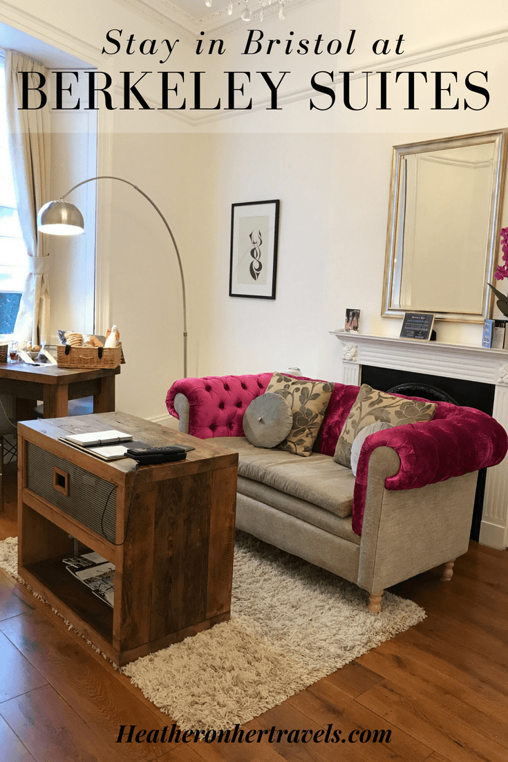 Stay at Berkeley Suites in Bristol