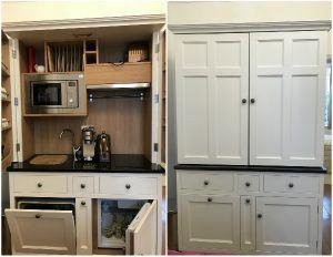 Kitchen of Berkeley Suites