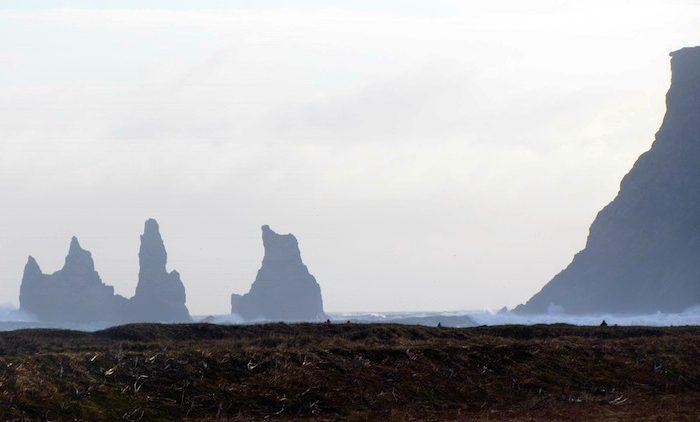 Vik black beaches in Iceland