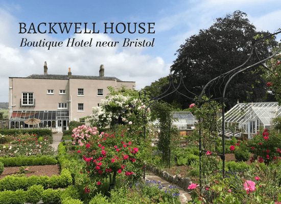 Backwell House boutique hotel near Bristol