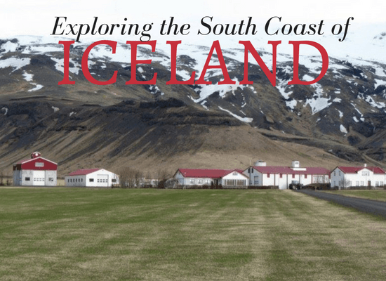 Exploring the south coast of Iceland