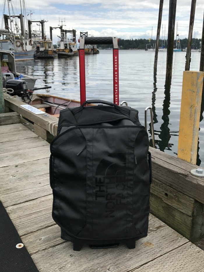 22b44dfb1 Review: The North Face Rolling Thunder luggage | Heather on her travels