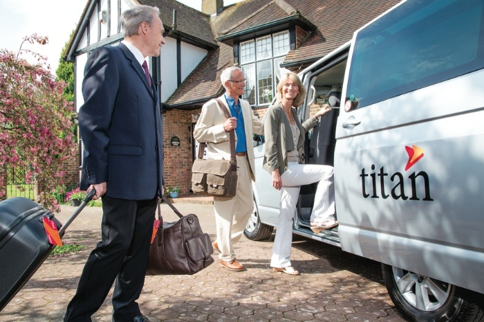 Titan travel VIP service