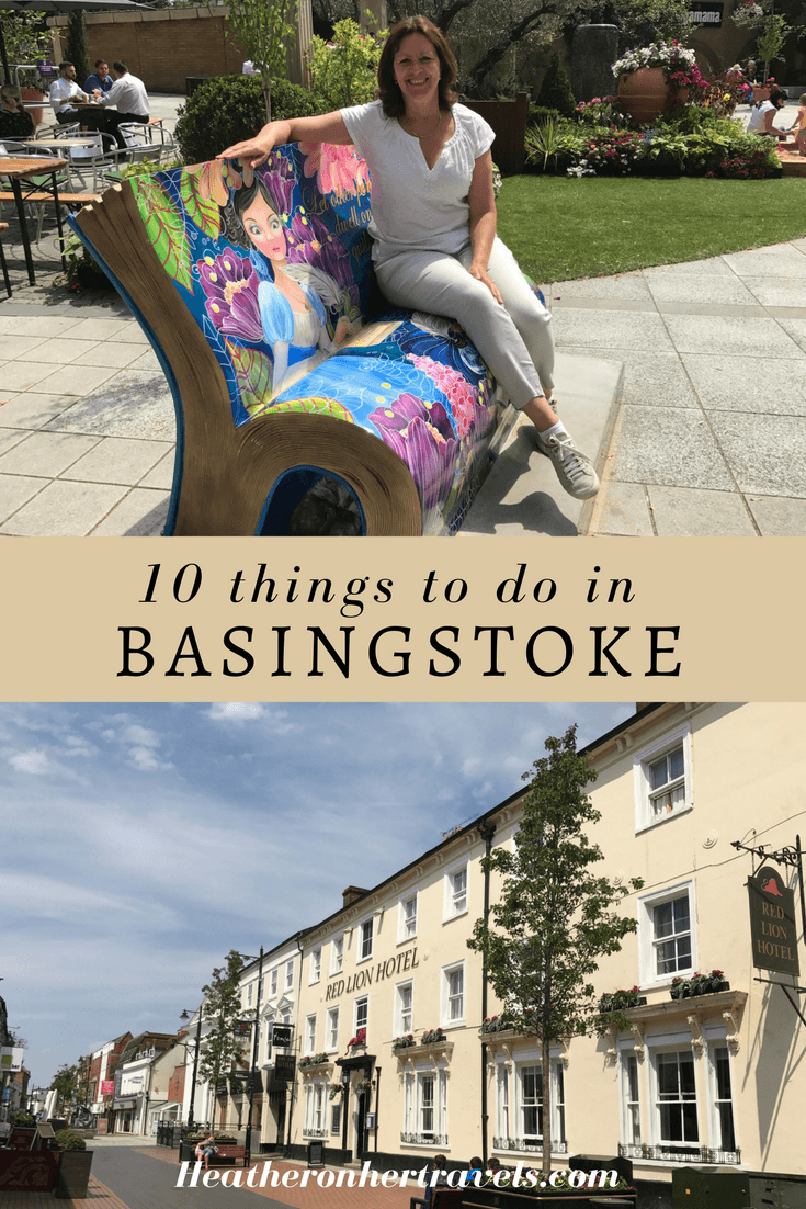 Read about 10 things to do in Basingstoke this summer