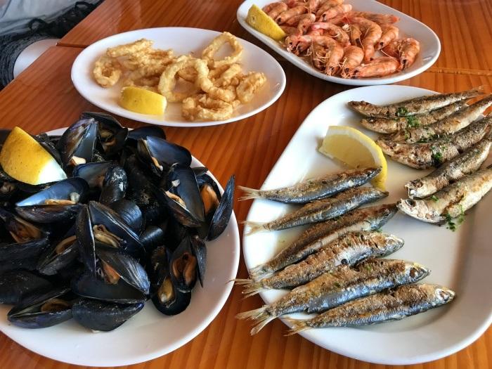 Seafood at Puerto Mar in Pensacola - Castellón, Spain Photo: Heatheronhertravels.com