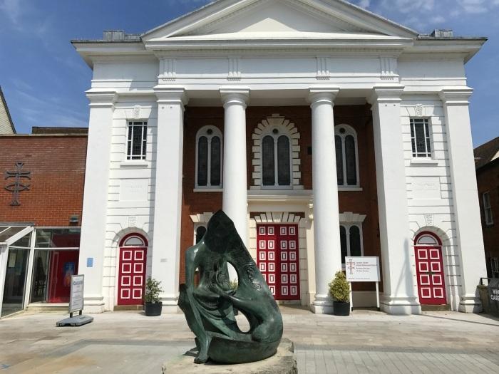 Top of the town in Basingstoke Photo: Heatheronhertravels.com