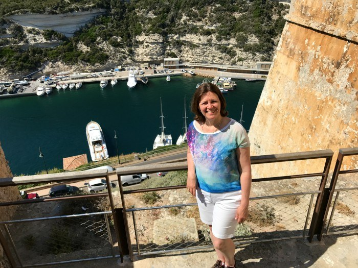 Bonifacio in Corsica with Voyages to Antiquity Photo: Heatheronhertravels.com