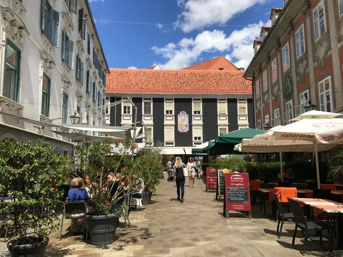 Things to do in Graz - Cafes in Graz Austria Photo: Heatheronhertravels.com