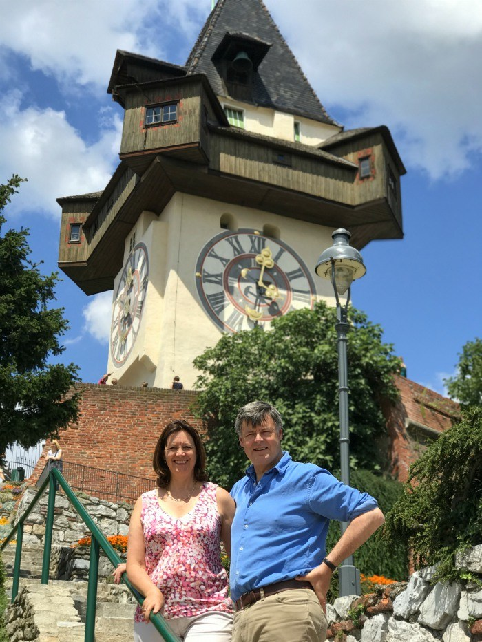 Clocktower in Graz Austria Photo: Heatheronhertravels.com