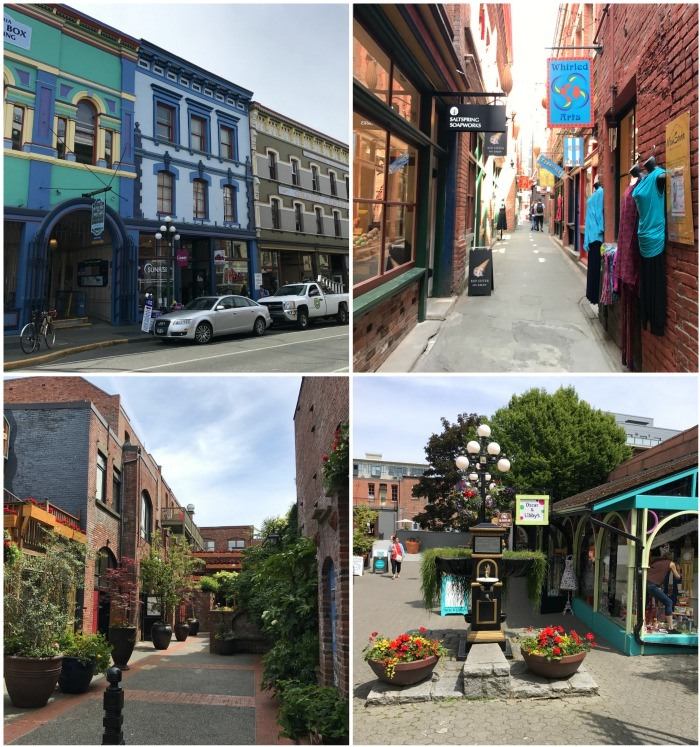 Downtown - Places to visit in Victoria, Canada Photo: Heatheronhertravels.com