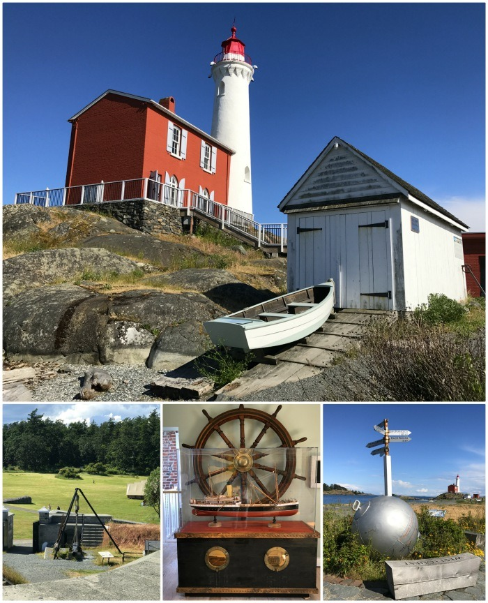 Fisgard Lighthouse near Victoria Photo: Heatheronhertravels.com