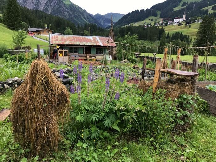 Narandi Permaculture, Kleinwalsertal, Vorarlberg, Austria Photo: Heatheronhertravels.com