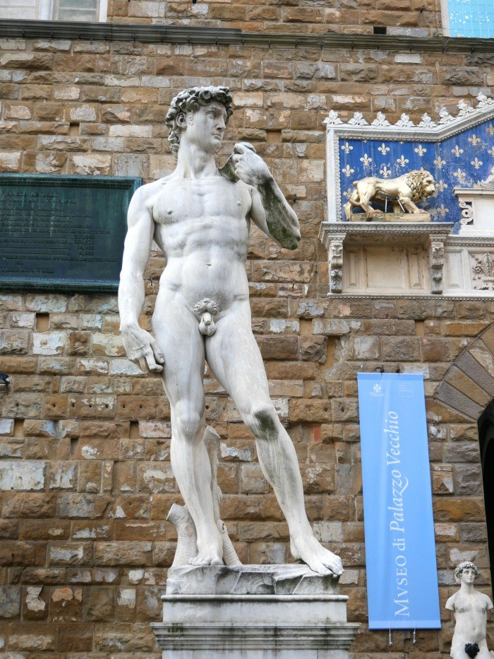 Palazzo Vecchio in Florence, with Voyages to Antiquity