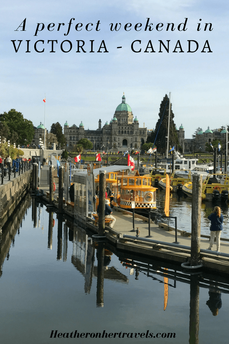 Read about a perfect weekend in Victoria, Canada