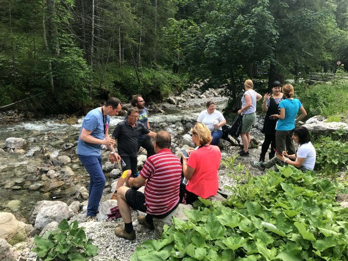 Walk with Herbert Edlinger, Kleinwalsertal, Vorarlberg, Austria Photo: Heatheronhertravels.com