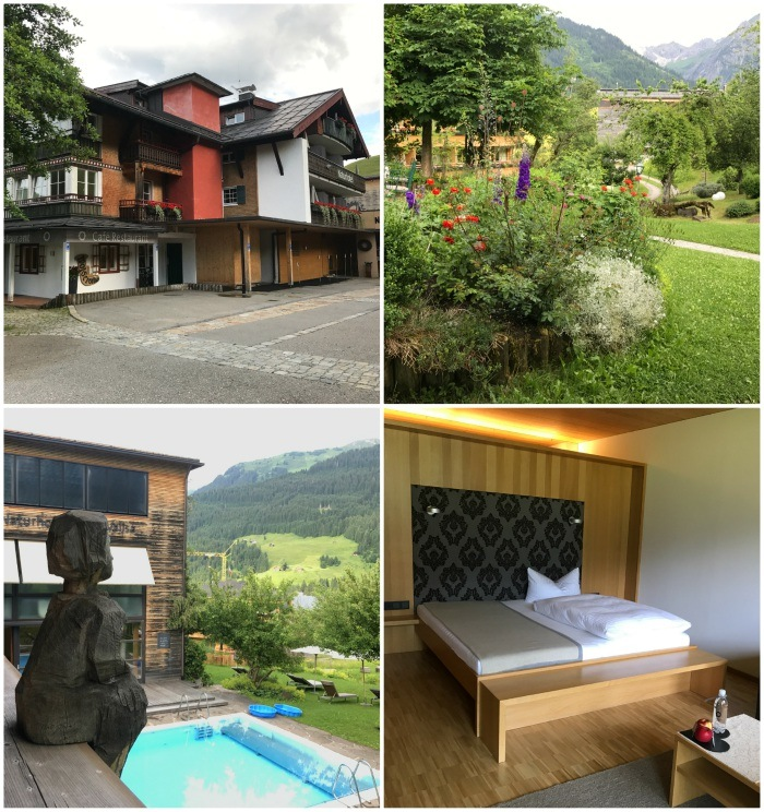 Natur hotel Chesa Valisa in Kleinwalsertal
