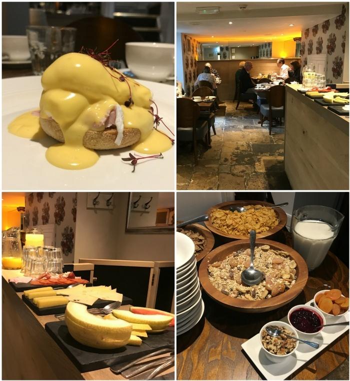 Breakfast at Vanbrugh House Hotel Oxford photo: heatheronhertravel.com
