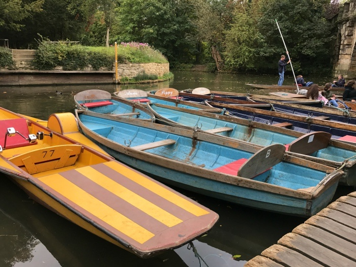 Punting in Oxford - 48 hours in Oxford
