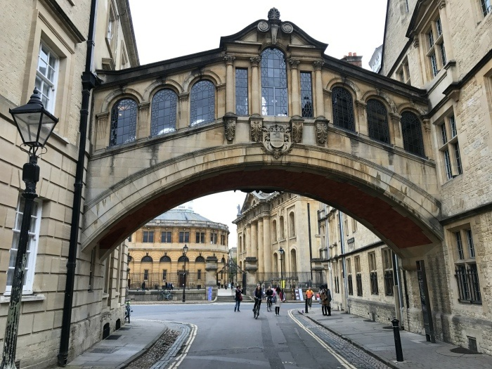 Walking tour of Oxford - weekend in Oxford