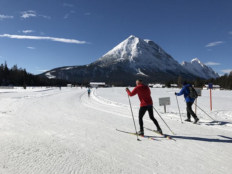 Cross country ski in Seefeld photo: Heatheronhertravels.com