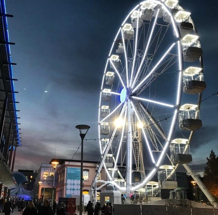 Bristol Xmas Market - Millenium Square Ferriswheel