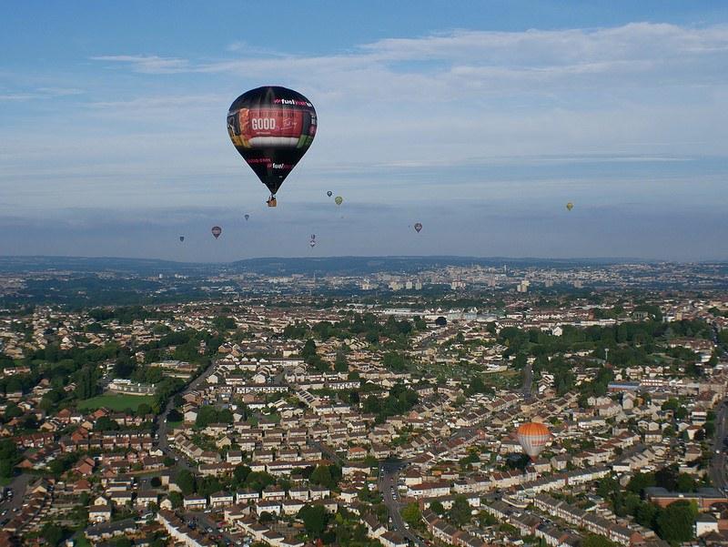 Balloon Flight over Bristol