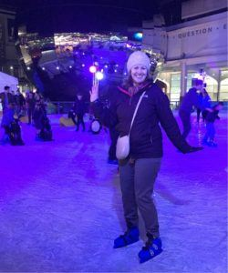 Ice skating in Bristol