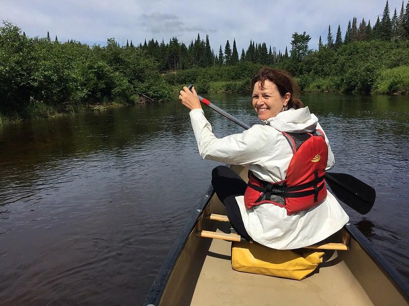 Kayak in Canada photo: Heatheronhertravels.com